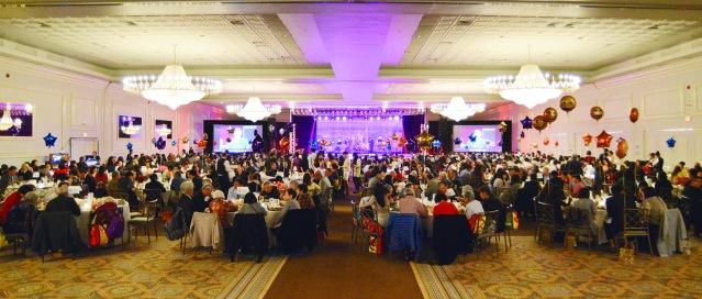 慶祝香港回歸中國20週年晚會的會場一景