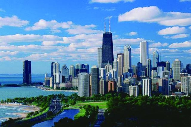 101017-03 芝加哥市長與朗納卅長同心