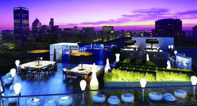 10. Roof Top Lounge