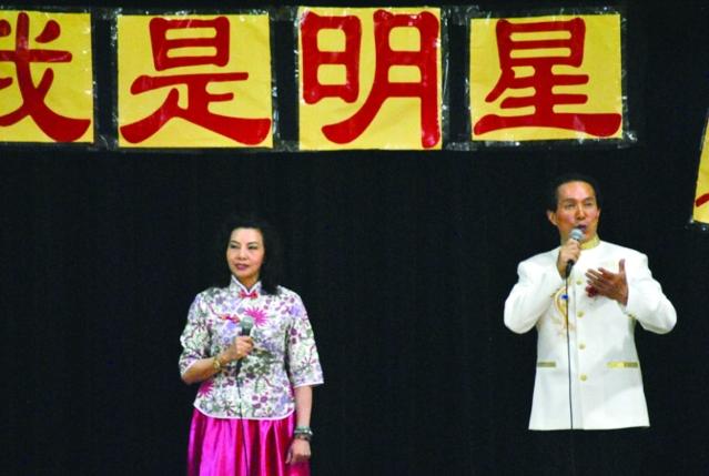 3 劉漢平(右)與陳曉(左)二重唱
