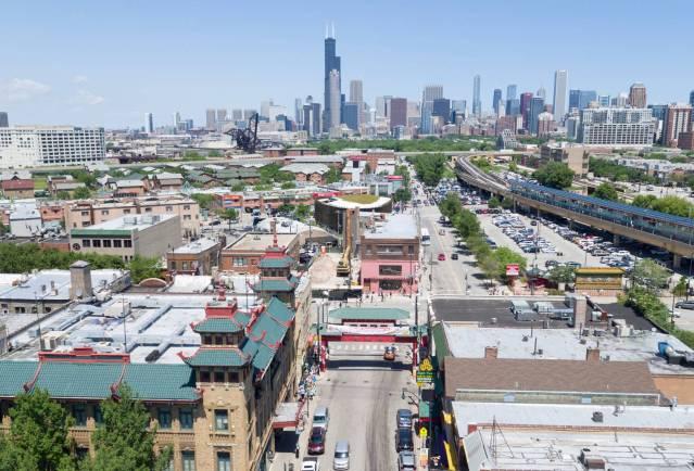 071118-032 芝加哥中國城街道破土動工儀式舉行