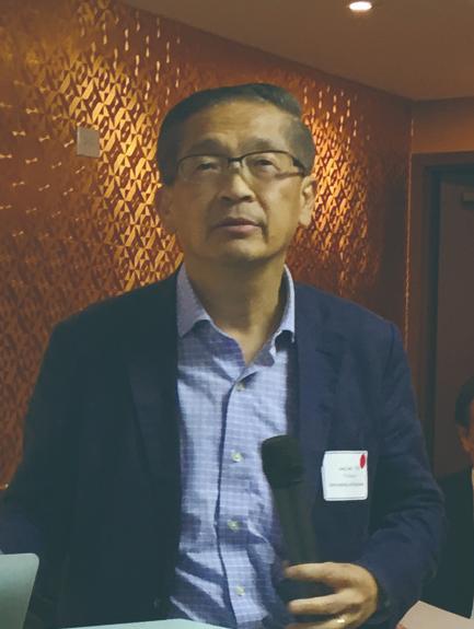 照片三:知名的辛辛那提大學李傑教授應邀專題演講