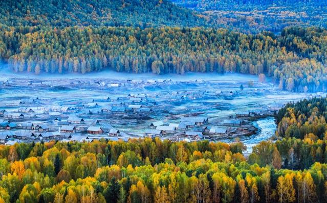 新疆禾木村