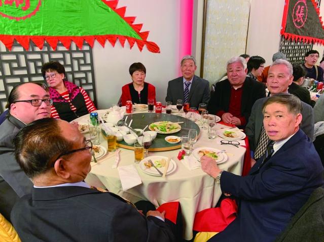 照片十一:阮氏公所出席宴會