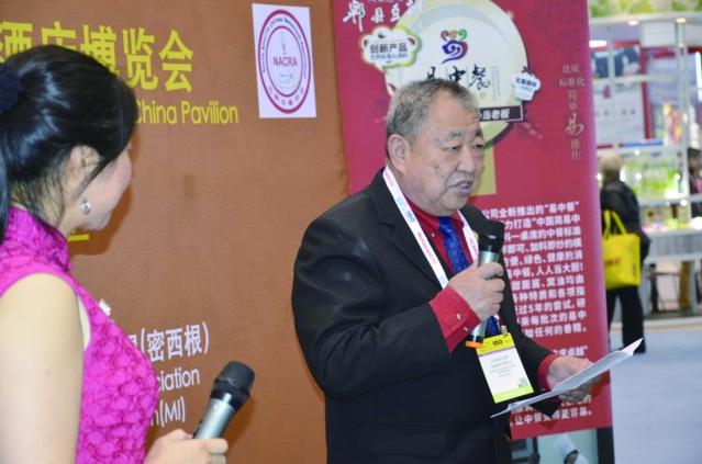 12馬拉松花旗參杯廚藝表演賽總裁判長李光遠