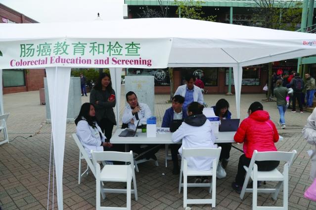 照片十:活動現場免費健康檢查