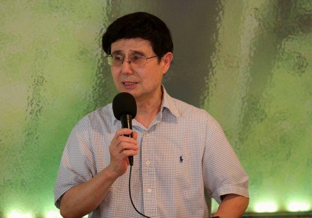照片三:華聯會理事長汪興無感謝和肯定警方、法院、華人社區對章瑩穎案的支持