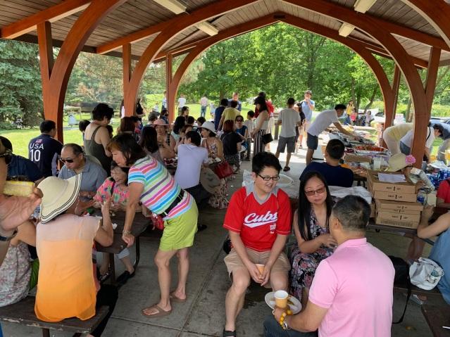 照片八:野餐會活動現場一角