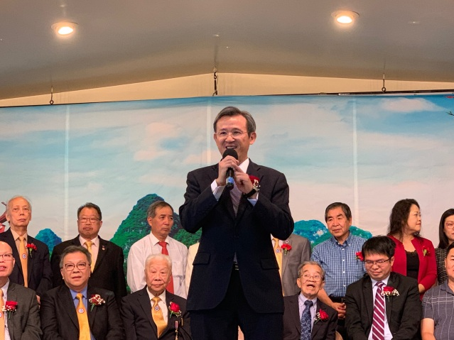 照片三:台北經文處陳彥夆副處長致辭