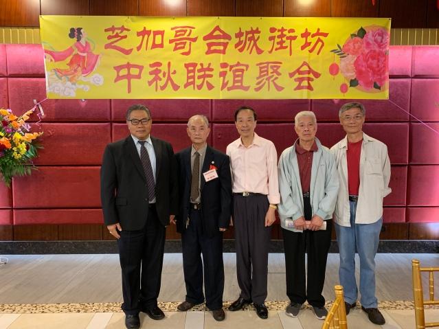 照片六:出席活動嘉賓合影(左起):李著華總裁、理事長李國雄、張傑英、陳卓權