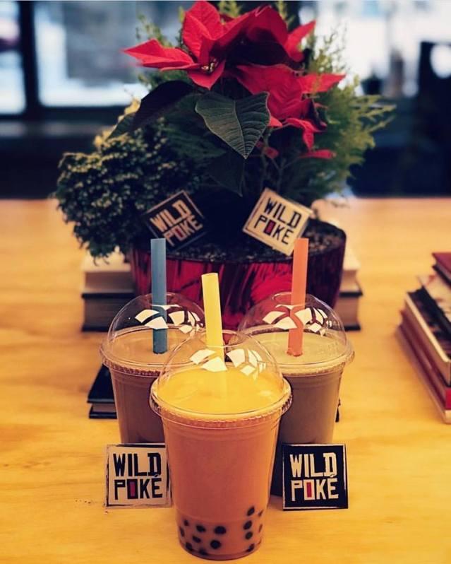 Wild Poke'-珍珠奶茶