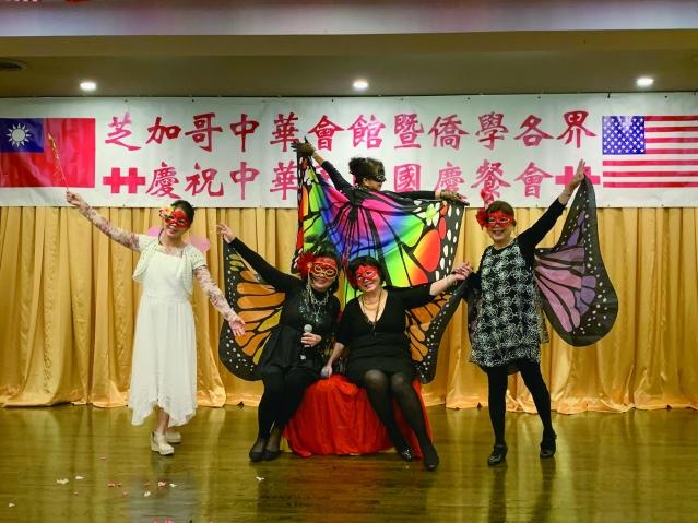 13.世華婦女會帶來《隱形的翅膀》,獨特的造型十分吸睛