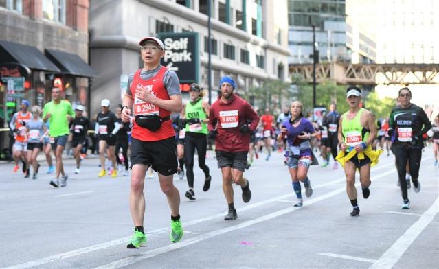 2.中國長跑愛好者參與馬拉松大賽