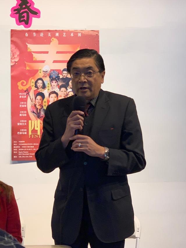 1.華聯會常務副主席欒文琦主持新聞發佈會