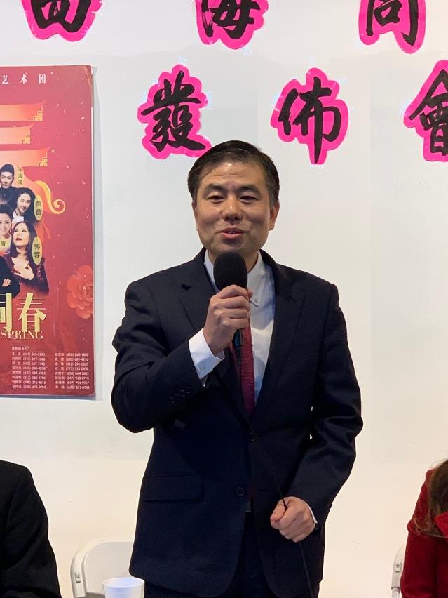 3.盧曉暉領事致辭感謝承辦方華聯會所做出的大量工作
