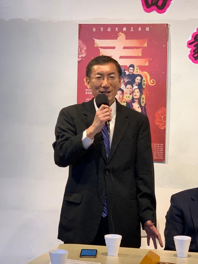 4.晚會總幹事王濤介紹籌備工作事宜
