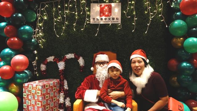 与圣诞老人合照4
