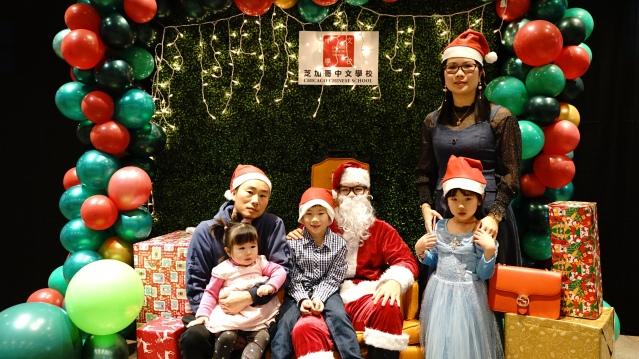 与圣诞老人合照5